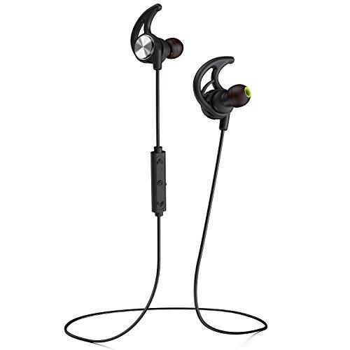 Phaiser BHS-750 Bluetooth Headphones Runner Headset Sport Earphones with  Mic and Lifetime Sweatproof Guarantee - Wireless Earbuds for Running,