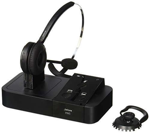 Jabra Pro 9450 Mono Flex Boom Wireless Headset For Deskphone Softphone Sound That Out