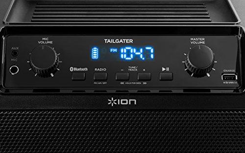 iPA77 ION Audio Tailgater Portable Bluetooth PA Speaker with Mic AM//FM Radio