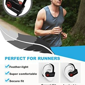 281c3a68774 Wireless Bluetooth Running Headphones – SoundWhiz Noise Cancelling  Waterproof Workout Earbuds – w Mic & Siri. Best Sport Headphones 8 Hours  Play – Sound ...