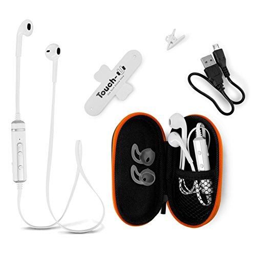 Bluetooth Earbuds Headphones With Microphone From Bt Waves Best Apple Style Noise Cancelling Stereo Earpods Wireless Headset Enjoy Clear Sound On The Move Sound That Out