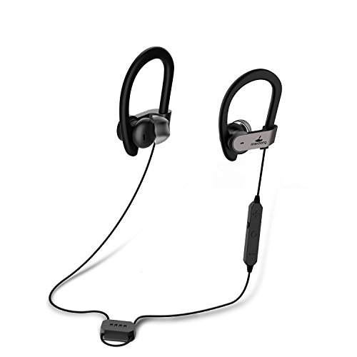87757457c19 Active Noise Cancelling Bluetooth Earbuds, Meidong HE8C Ear buds In Ear  Earphones Sports Headphones with Deep Bass/Hard Travel Case/15 Hours  Playtime/apt-X ...