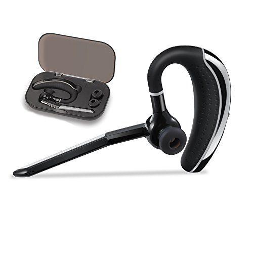 Comexion Bluetooth Headset Wireless Earpiece V4 1 Ultralight Handsfree Business Earphone With Mic For Business Office Driving Sound That Out