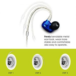 Mifo In-Ear Headsets R1 Wired Earbuds/Headphones with built Mic, Compatible  IOS and Android Phones, Hands Free Calling (Silver)