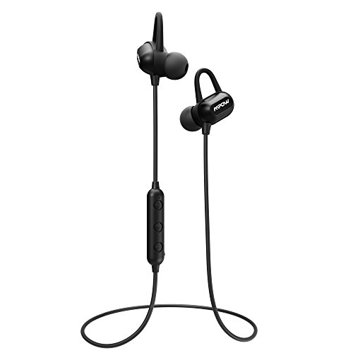 Mpow S9 Bluetooth Headphones Aptx Stereo Wireless Earbuds Magnetic Ipx6 Sweatproof Earphones 8 9 Hours Play Time With Hd Mic For Running And Sport Sound That Out