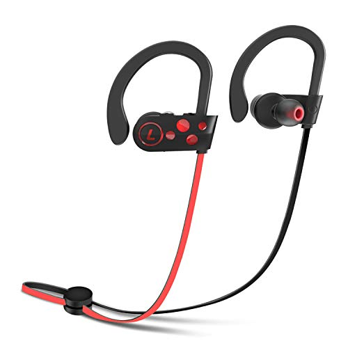 Wireless Bluetooth Headphones Letsfit Sports Earphones Earbud Headphones With Mic Wireless Headset Waterproof Sweatproof Hd Stereo Earbuds For Running Gym Noise Cancelling 8 Hours Work Time Sound That Out