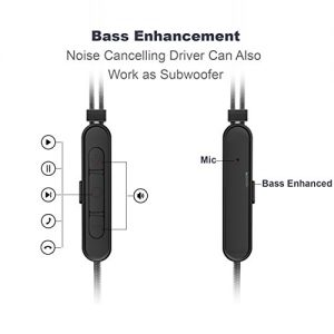 83cff195bb5 Active Noise Cancelling Headphones,OVC Noise Cancelation Earbuds with  Microphone and Remote,1.3m Wired Earbuds In Ear ANC Earphones with 60Hours  Playtime ...