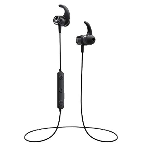 04e1ec69e07 Mpow S10 Bluetooth Headphones, IPX7 Waterproof Hi-Fidelity Audio Sports  Earbuds, Magnetic Lightweight Running Earphones with Mic, 8 Hours Playtime  Wireless ...