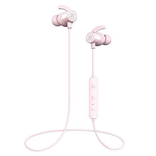 b689168ba35 SoundPEATS Magnetic Wireless Earbuds Bluetooth Headphones Sport in-Ear  Sweatproof Earphones with Mic (Super Sound Quality, IPX6, Bluetooth 4.1,  aptx, ...