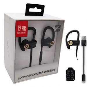 Beats By Dr Powerbeats3 Wireless Earphones Wall Charger With 6 Cable Retail Packing Bundle Trophy Gold Sound That Out