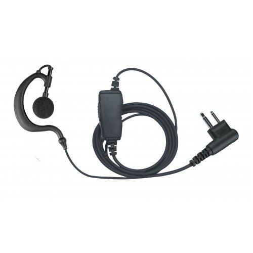 1-wire Headset Earpiece For Motorola CP200 CP200XLS PR400 CT450 XTN500 Portable