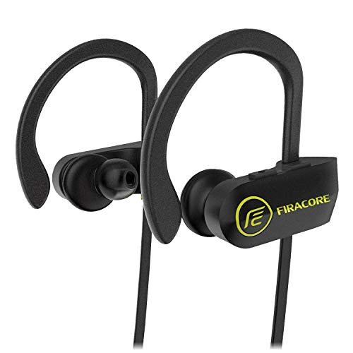Bluetooth Headphones, FIRACORE Sports Wireless Headphones