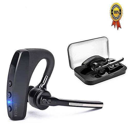 38731d3543b [ Latest Version] WISTMAR SoundBuds Slim Bluetooth Wireless Headset Ear  Hooks Business HD Stereo Earphones Headphones Noise Cancelling in-Ear  Earbuds with ...
