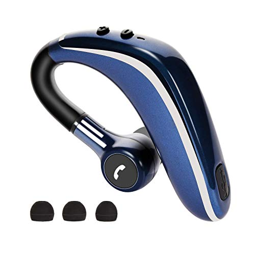 Bluetooth Headset Ultralight Wireless Bluetooth Earpiece V5 0 Hands Free Noise Cancelling Earphone With Mic For Business Office Driving 0 5 0 8 Hours Charging Sound That Out