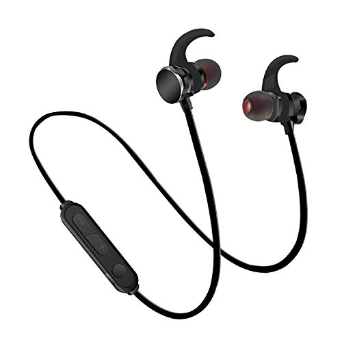 Bluetooth Headphones Vnvm Wireless Headphones Bluetooth 5 0 7 Hour Playtime Ipx7 Waterproof Magnetic Connection Wireless Earbuds Bluetooth Earphones For Sports Exercise Running Gym With Mic Sound That Out
