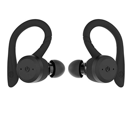 True Wireless Earbuds Bluetooth 5 0 Headphones Sports In Ear Tws Stereo Mini Headset W Mic Extra Hifi Bass Ipx7 Waterproof Instant Pairing 15h Battery Charging Case Noise Cancelling Earbuds Earphones Sound That Out